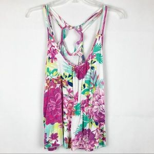 Candie's | Sleeveless Floral Top